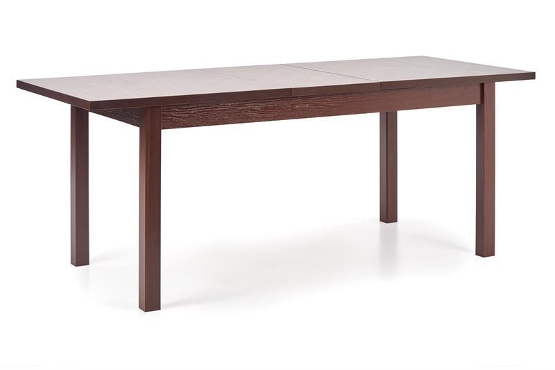 Стол раскладной MAURYCY темный орех 118(158)x75 (Halmar)