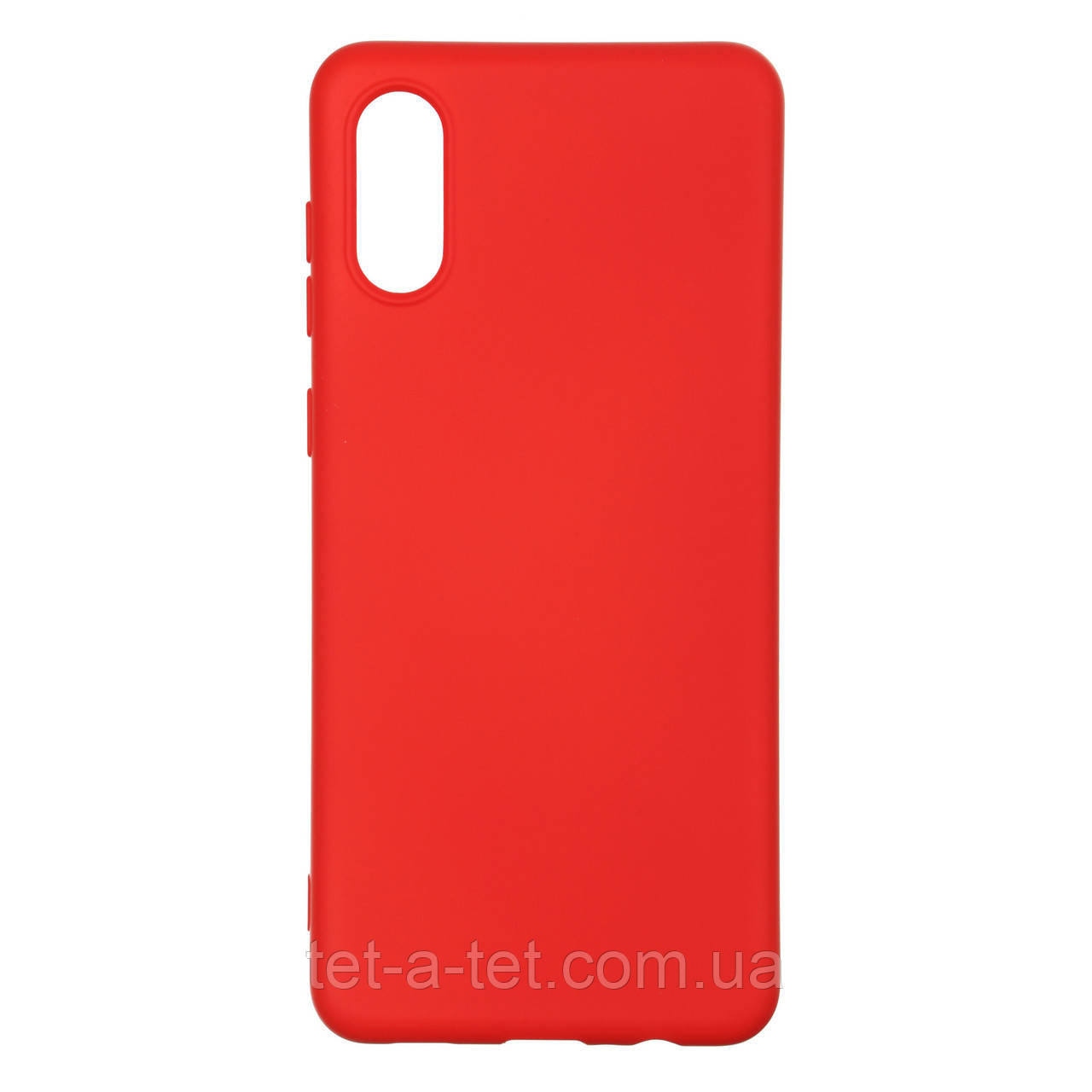 Чехол силиконовый ArmorStandart ICON Case for Samsung A02 (A022) Chili Red