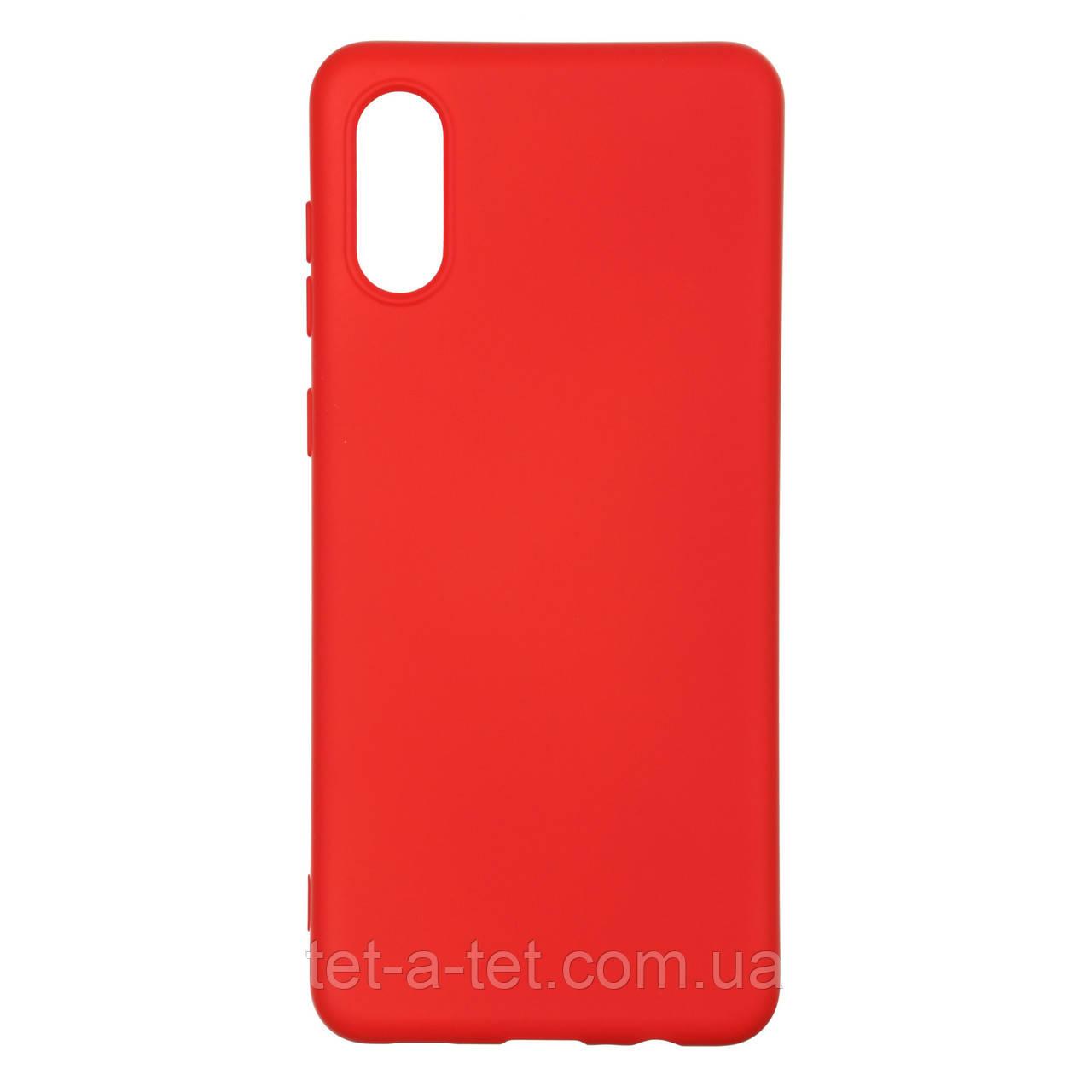 Чохол силіконовий ArmorStandart ICON Case for Samsung A02 (A022) Red Chili