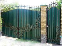 Образцы кованных ворот