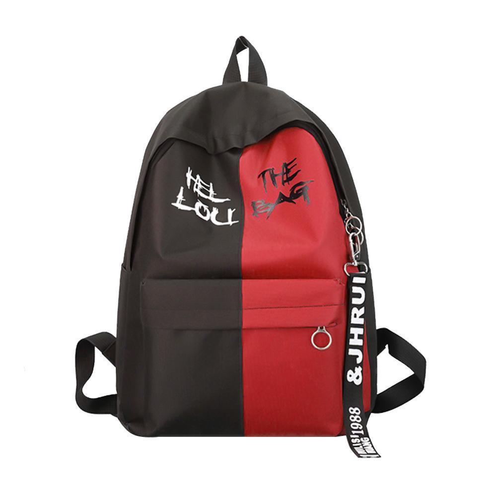 Рюкзак унисекс с принтом, двухцетный рюкзак, стильный рюкзак 2021  СС-2525-35