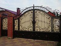 Кованый ворота и калитки