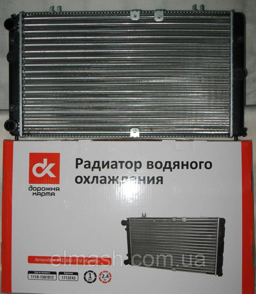Радиатор водяного охлаждения ВАЗ 1118 <КАЛИНА> <ДК>