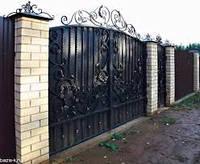 Сборка кованых ворот