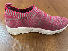Стильні літні снокеры кросівки-шкарпетки, фото 3