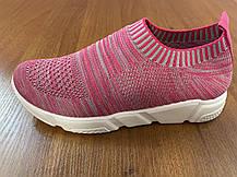 Стильні літні снокеры кросівки-шкарпетки, фото 2