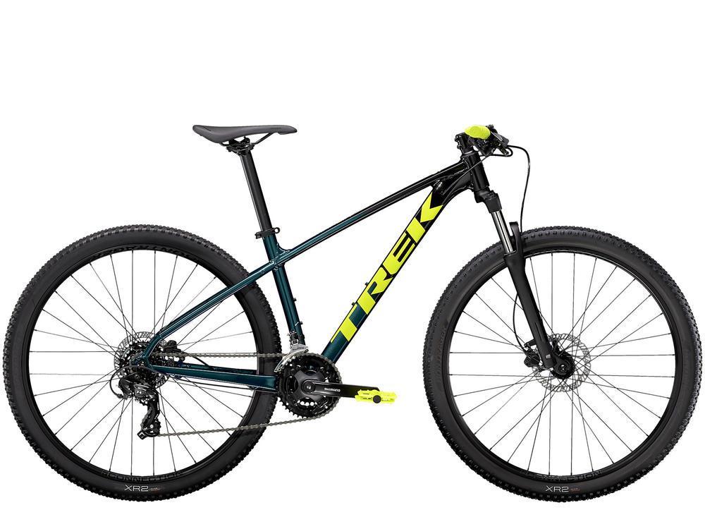 Велосипед Trek-2021 MARLIN 5 ML 29 GN-BK чорно-зелений