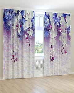 Фото штори звисаюча орхідея