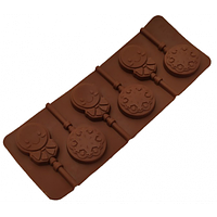 """Силіконова форма для цукерок Пряниковий чоловічок""""арт. 840-624, фото 1"""