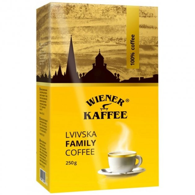 Віденська кава Львівська Family, 250г