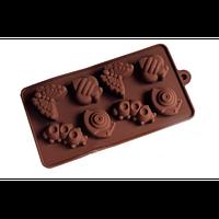 """Силиконовая форма для конфет """"Насекомые"""" арт. 840-15A46132, фото 1"""