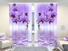Фотошторы орхідея над водою
