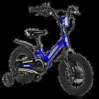 Велосипед детский для мальчика девочки 3 4 5 лет колеса 14 дюймов Corso MG-85328 магниевая рама литые диски, фото 1