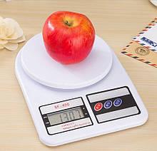 Весы кухонные Kitchen SF-400 7кг Белые 20053100264, КОД: 1810631