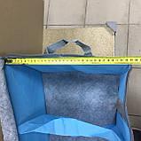 Кофр для хранения вещей с разделителями 55х33х27см, фото 6