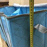 Кофр для хранения вещей с разделителями 55х33х27см, фото 7