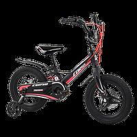 Велосипед дитячий для хлопчика дівчинки 3 4 5 років колеса 14 дюймів Corso MG-01025 магнієва рама литі диски, фото 1