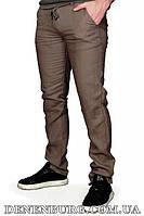 Брюки мужские (лён) MUZZO 21-MZ040-73. L.KETEN коричневые