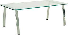 Стол журнальный Incanto Duo chrome GL прямоугольный 1100*552 мм (Новый Стиль ТМ)