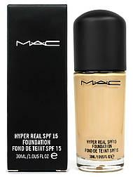 Уйстойчивая тональная основа MAC Hyper Real Foundation, 30 мл.