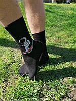 Чорні чоловічі шкарпетки