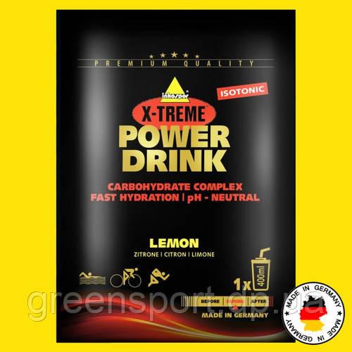 Изотоник Inkospor Power Drink 35 г Лимон Выносливость + восстановление