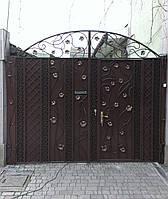 Откатные распашные и кованые ворота