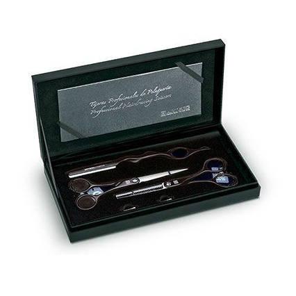 Набір ножиці і бритва чорна Artero Symet 5.5 & Creative L52