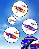"""Літак-планер """"Кукурузник"""" AIRCRAFT з зарядкою і моторчиком, 28*29 см"""