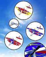 """Самолет-планер """"Кукурузник"""" AIRCRAFT с зарядкой и моторчиком, 28*29 см"""