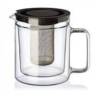 Чайник с двойными стенками и фильтром 1.1 л Simax Exclusive s3280