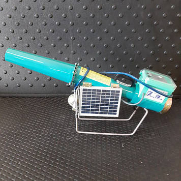 Пропановая пушка с электронным управлением и солнечной батареей