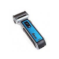 Электробритва Gemei GM 589 Триммер 3в1 (Gold Black) | Электрическая бритва триммер для бороды