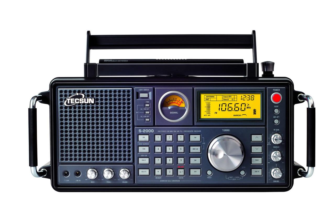 Радіоприймач TECSUN S-2000