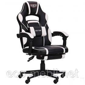 Геймерське крісло для ігор VR Racer Dexter Vektor чорний/білий