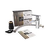 Змішувач для раковини Lidz (CRM) 15 36 001 00, фото 5