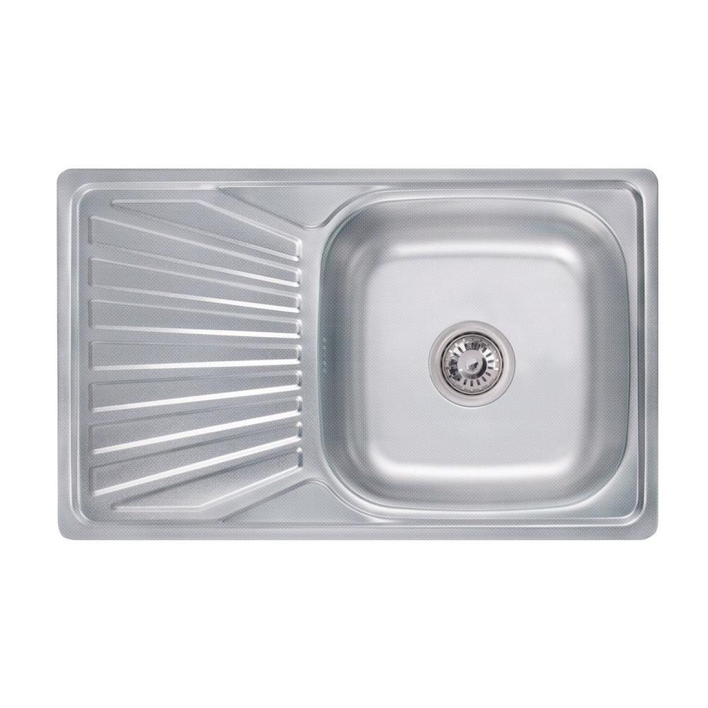 Кухонна мийка Lidz 7848 0,8 мм Decor (LIDZ7848DEC)