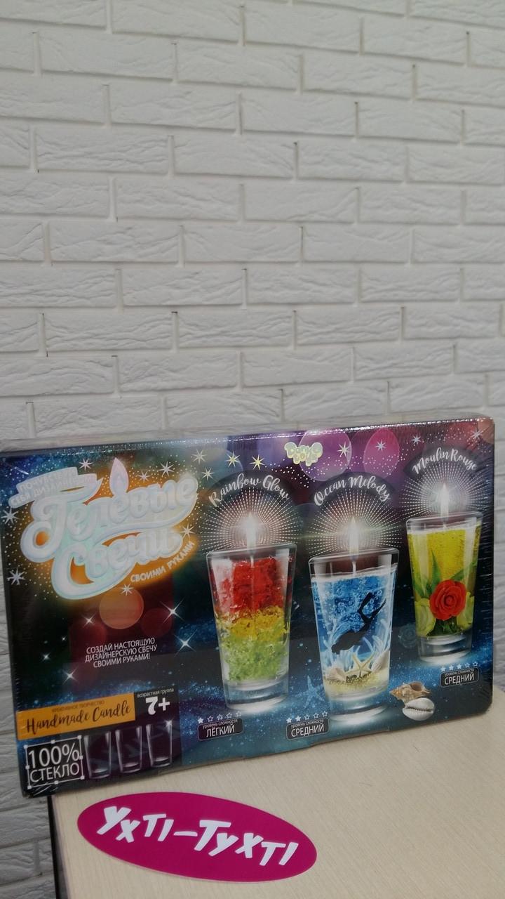 Набір для творчості Набір гелевих свічок Danko Toys GS -02-01