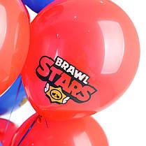 Связка: 8 синих Brawl Stars, 7 красных Brawl Stars, фото 2