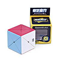 Кубик Рубика X cube/Dino cube без наклеек (QiYi)