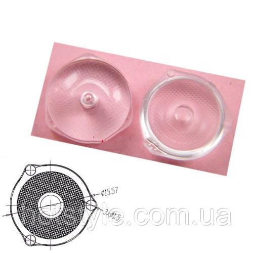 10x Рассеивающая оптическая линза LED планки подсветки ТВ, внешний крепеж, 103856