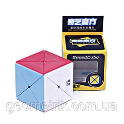 Кубик Рубіка X cube/Dino cube без наклейок (QiYi)