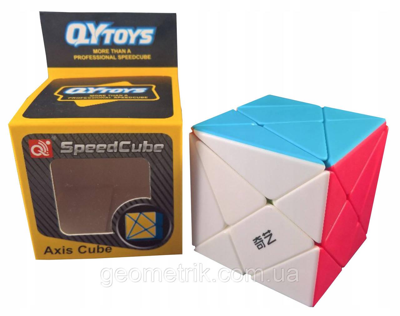 Кубик Рубика Axis cube без наклеек (QiYi)