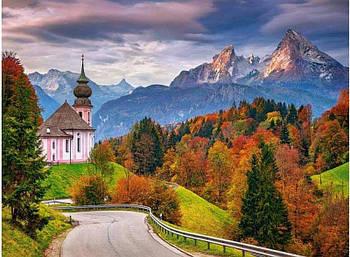 """Пазлы Castorland C-200795 """"Осень в Баварских Альпах. Германия"""" на 2000 элементов (C-200795)"""