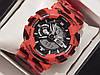 Мужские кварцевые наручные часы Casio G-Shock GA100 RB Military, хаки