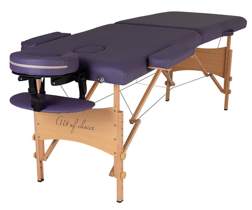 Массажный стол NEL (фиолетовый)