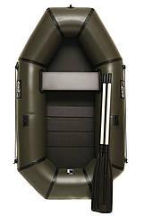 Надувная резиновая лодка Grif boat GL-210S для рыбалки и охоты на воде (220603)