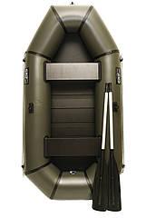 Надувний гумовий човен Grif boat GL-240S для риболовлі та полювання на воді (220607)