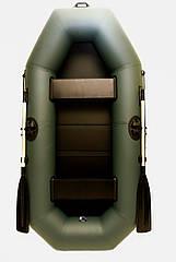 Човен надувний пвх двомісна Grif boat G-250