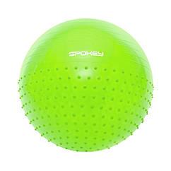 Гімнастичний м'яч Spokey HALF FIT 65 см Салатовий (s0247)